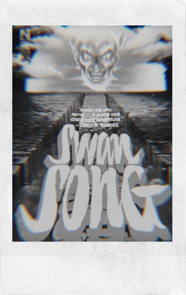 Portada de El Canto del Cisne o Swan Song